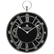 Fifty Five South Hampstead Pocket Style Wall Clock - Black