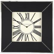 Fifty Five South Kensington Townhouse Wall Clock - Black