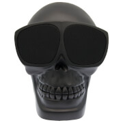 Cross Humanity Bluetooth Skull Speaker - Black