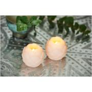 Sirius Helene LED Wax Candle Set with Timer - Blush