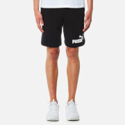 Puma Men's Essential No.1 Sweat Shorts - Cotton Black