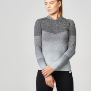 Seamless Ombre Hoodie