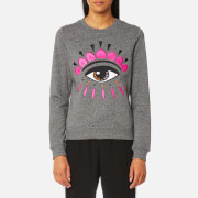 KENZO Women's Eye Classic Sweatshirt - Anthracite