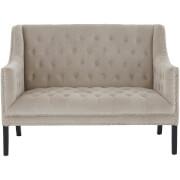 Regents Park Two Seater Sofa - Camel Velvet