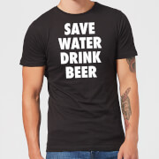 Beershield Save Water Drink Beer Men's T-Shirt