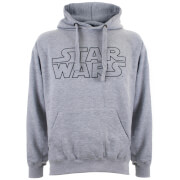 Sweat à Capuche Homme - Star Wars Logo - Gris