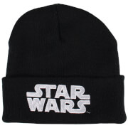 Star Wars Men's Logo Beanie - Black