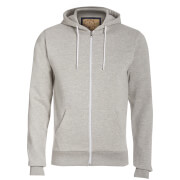 Advocate Men's Berkley Zip Through Hoody - Grey Marl