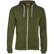 Advocate Men's Berkley Zip Through Hoody - Khaki