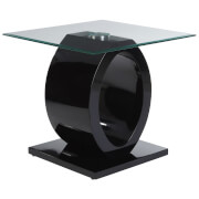Fifty Five South Halo Side Table - Black
