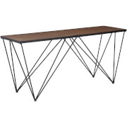 Fifty Five South New Foundry Console Table - Fir Wood/Metal