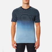 Superdry Men's Lite Loom City Dip Dye Pocket T-Shirt - Indigo Stripe Dip Dye