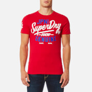 Superdry Men's Ticket Type Modern Classic T-Shirt - Indiana Red