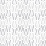Superfresco Easy Oiti Chevron Geometric Wallpaper - Silver