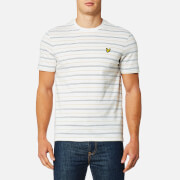 Lyle & Scott Men's Pick Stitch T-Shirt - Oatmeal Marl
