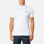 Lyle & Scott Men's Woven Collar Polo Shirt - White