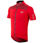 Pearl Izumi Elite Pursuit Short Sleeve Jersey - True Red/Chili Pepper Rush