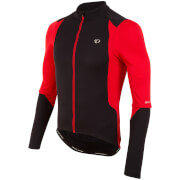 Pearl Izumi Select Pursuit Long Sleeve Jersey - Black/True Red