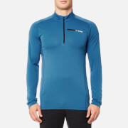 adidas Terrex Men's Tracerocker 1/2 Zip Long Sleeve Top - Core Blue