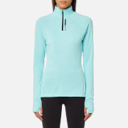 adidas Terrex Women's Tracerocker 1/2 Zip Long Sleeve Top - Clear Aqua