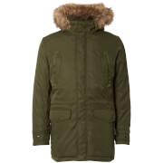 Jack & Jones Men's Core Land Parka Jacket - Rosin