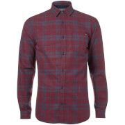 Jack & Jones Originals Men's Bravo Long Sleeve Check Shirt - Port Royale