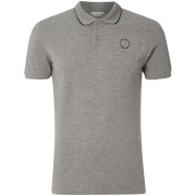 Jack & Jones Men's Core Inspi Polo Shirt - Light Grey Marl