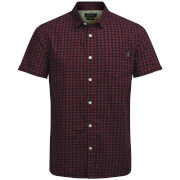 Camisa manga corta Jack & Jones Originals Jamey - Hombre - Granate