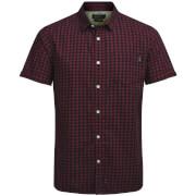 Jack & Jones Originals Men's Jamey Short Sleeve Shirt - Rosewood