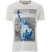 Jack & Jones Men's Originals Arco T-Shirt - Cloud Dancer/Multi