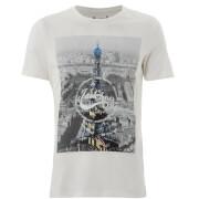 T-Shirt Homme Originals Arco Jack & Jones - Blanc Cassé