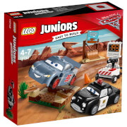 LEGO Juniors: Cars 3: Rasante Trainingsrunden in der Teufelsschanze (10742)