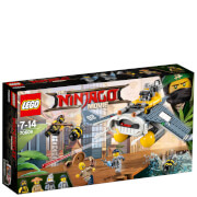 The LEGO Ninjago Movie: Bombardero-mantarraya (70609)