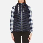 Barbour Women's Lowmoore Quilt Gilet - Dark Navy