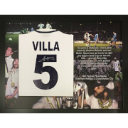 Ricky Villa 1981 Cup Final Signed and Framed Shirt