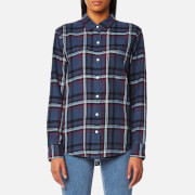 Levi's Women's Sidney One Pocket Boyfriend Shirt - Peony Indigo