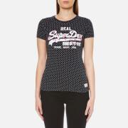 Superdry Women's Vintage Logo Infill T-Shirt - Eclipse Navy