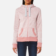 Superdry Women's Storm Zip Hoody - 90's Rose Snowy