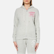 Superdry Women's Athletic League Loopback Zip Hoody - Athletic Grey Marl