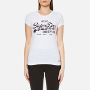 Superdry Women's Vintage Logo Infill T-Shirt - Optic White