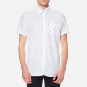 Barbour Men's Crab Short Sleeve Shirt - White