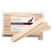 Lycon Waxing Spatulas Body Tongue Depressors 100 Pack