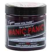 Manic Panic Semi-Permanent Hair Color Cream - Deep Purple Dream 118ml