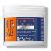 NIP+FAB Glycolic Fix Extreme Night Pads - 60 Pads