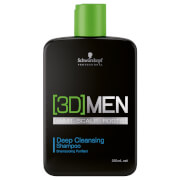 Schwarzkopf [3D] Men Deep Cleansing Shampoo 250ml