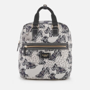 Radley Women's Folk Dog Medium Ziptop Backpack - Chalk