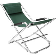 Premier Housewares Folding Garden Chair - Green