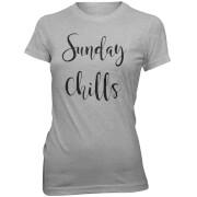 Sunday Chills Women's Slogan T-Shirt