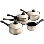 Premier Housewares 5 Piece Cream Belly Pan Set
