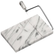 Premier Housewares Cheese Slicer - White Marble